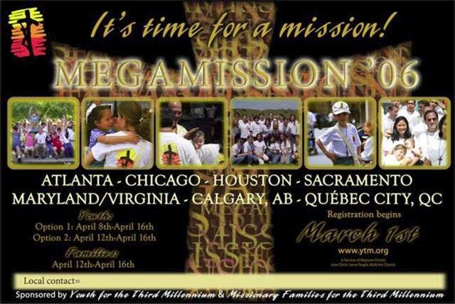 Megamisiones, USA 2006, promo