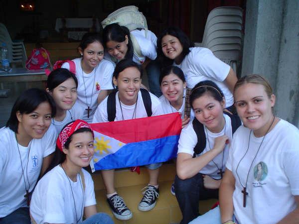 Misioneras en Filipinas