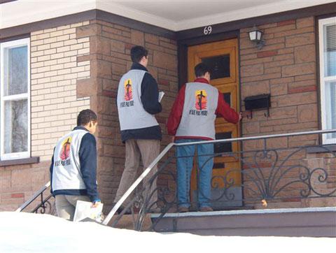Jóvenes misioneros en USA