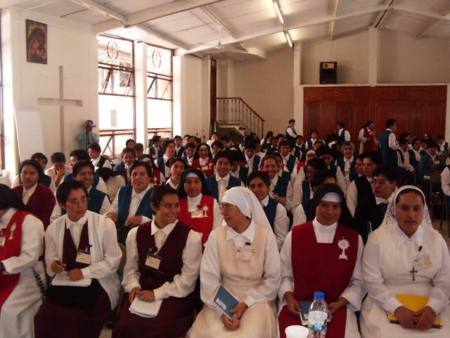 Primer curso para religiosas en Xalapa.