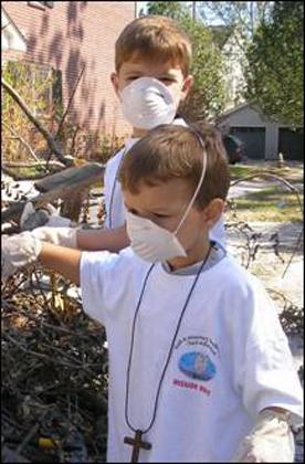 Niños de misiones en USA