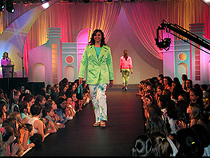 "Desfile de modas ""Pure Fashion""."