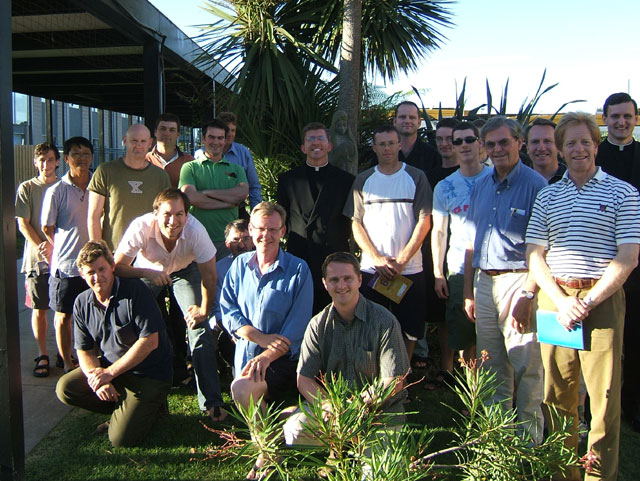 The participants for the first Oceania Regnum Christi Men's Convention held in Melbourne, March 3-5, 2006.
