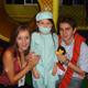 Dos miembros de Soñar Despierto acompañan a una niña enferma de cáncer.