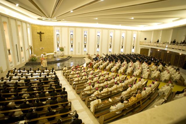 Simposio para obispos, Roma 2008.