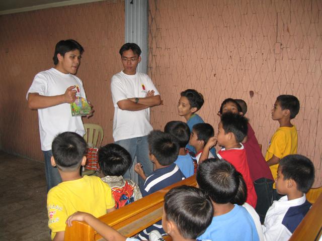 Misiones urbanas en Filipinas.