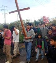 Misiones en Chile - Viacrucis