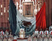 Juan Pablo II en la Basílica de Guadalupe