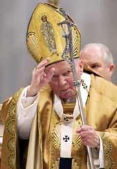 Bendición del Papa JPII
