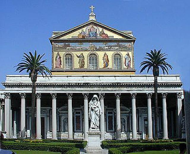 Basílica de San Pablo Extramuros.