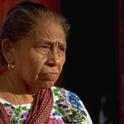 Señora indígena.