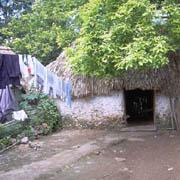 Casa indígena.