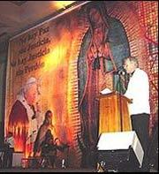 Encuentro mariano en Cancún