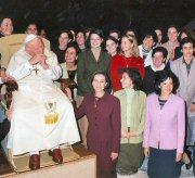 Audiencia con el Papa. consagradas de Roma