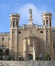 Facciata del Pontificio Istituto �Notre Dame of Jerusalem Center