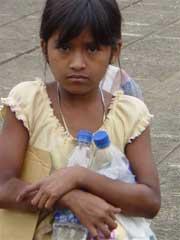 Misión de desparasitación en San Andrés Osuna, Guatemala