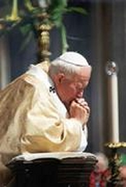 Santo Padre rezando