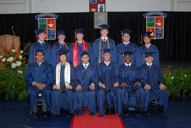 Highlands boys graduates