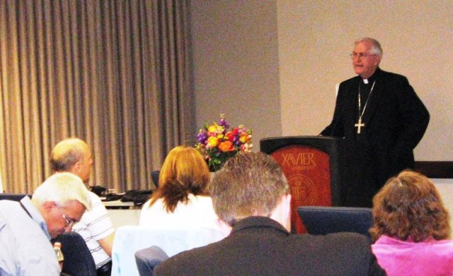 archbishop kurtz speaking