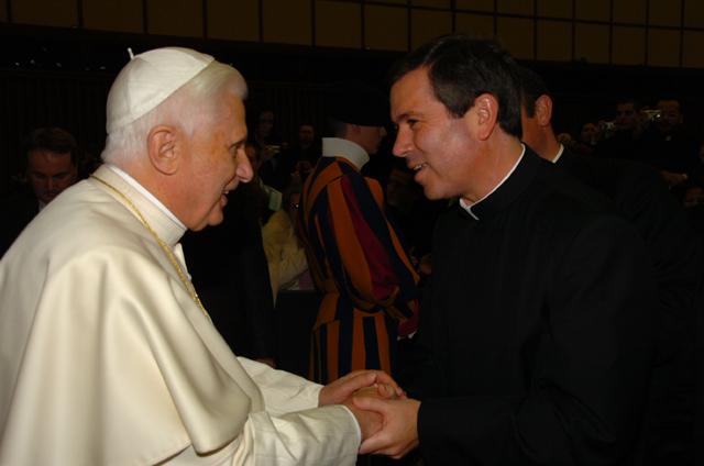 Audiencia con el Papa Benedicto XVI