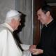 S.S. Benedicto XVI recibió en audiencia al P. Álvaro Corcuera, L.C. este 15 de marzo de 2008 (Foto: L'Osservatore Romano).