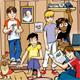 Los niños reciben mensualmente la revista NET de formación espiritual, humana e intelectual en un formato atractivo.