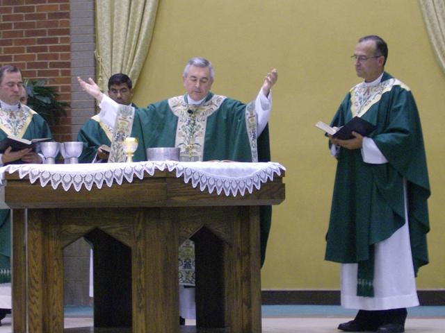 Bishop at consecration