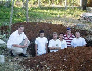 boys in cistern