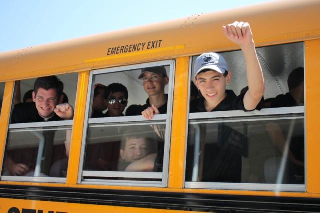 bus to gettysburg