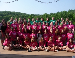 Challenge campers in midwest