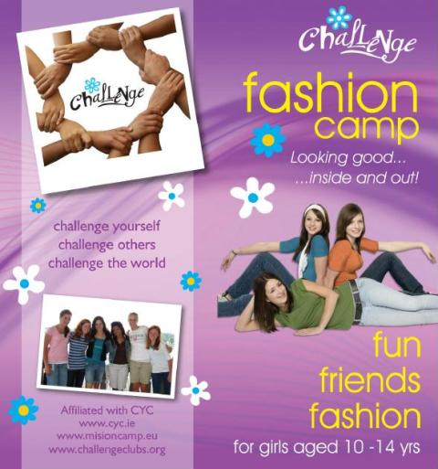 Challenge fashion camp