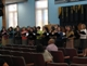 The Mater Ecclesiae Choir performing at the &quot;Marathon of Praise.&quot;