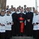Comunidad de novicios de Alemania acompañando al Card. Joachim Mesiner, arzobispo de Colonia.