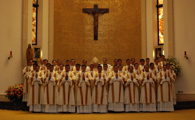 Ordenaciones diaconales en Roma, 2008