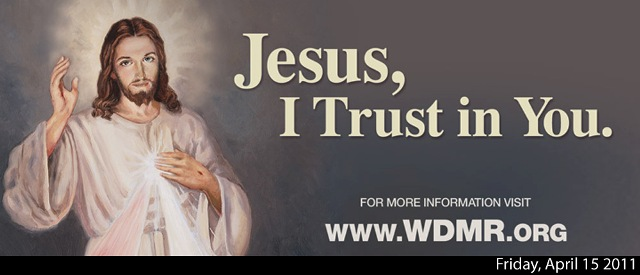 divine mercy billboard