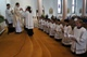 A view of the Legionary novices in Ireland making their religious profession.