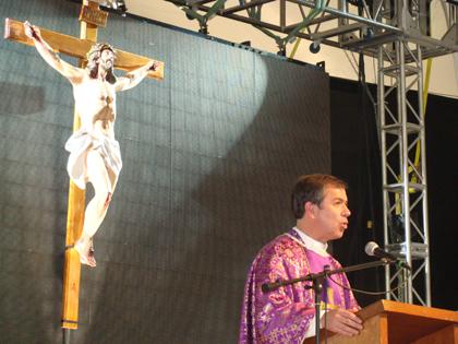 P. Álvaro Corcuera, L.C., en Puebla