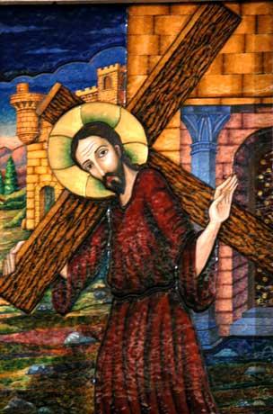 Cuadro del Via Crucis