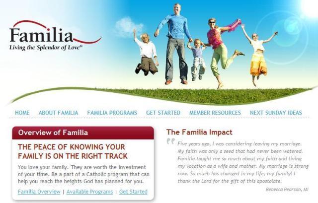 familia web site