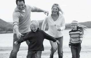 Family running