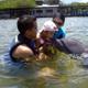 Laura Michelle, una niña que soñaba con conocer el mar y nadar con los delfines, una semana después de realizar su sueño cerró sus ojos para siempre.