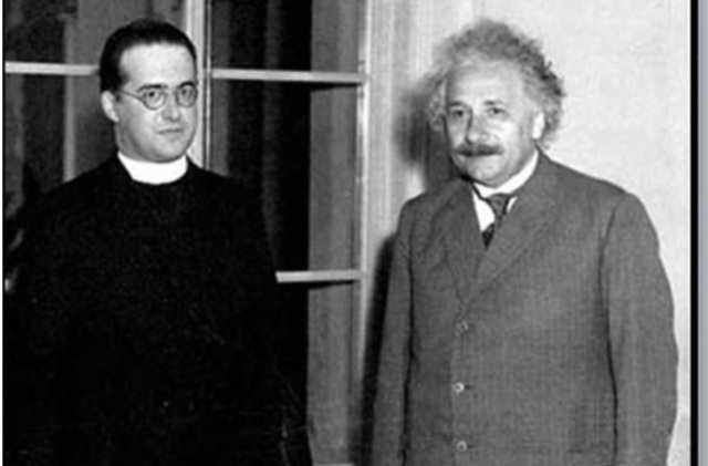 Fr Georges Lemaître and Albert Einstein