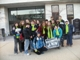(Right to Life-Lifespan Riders on Bus #4.  Sarah Luttinen is center with the red jacket, and her mom is on the far right.)