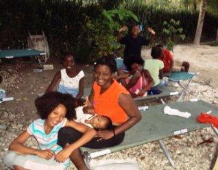 Haiti refugees