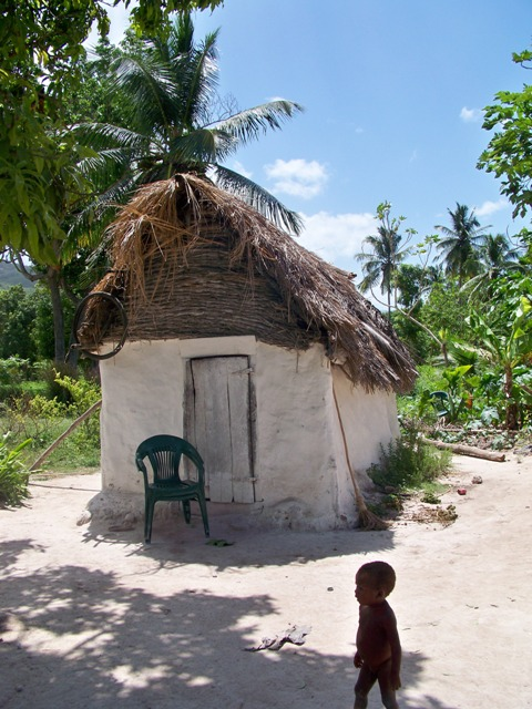 hut boy haiti