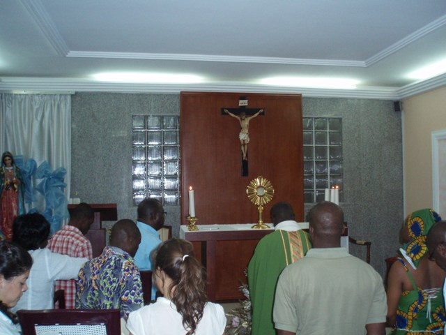 eucharistic hour Ivory Coast