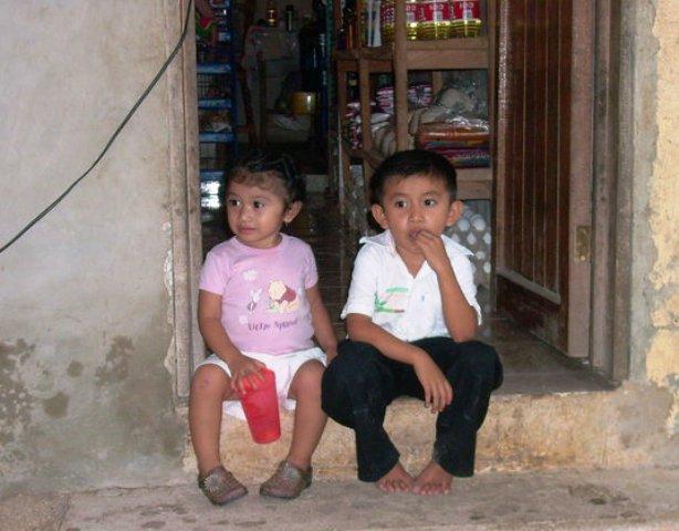 two kiddos
