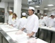 Students in the Culinary Arts program learn in the Notre Dame of Jerusalem Center kitchen.