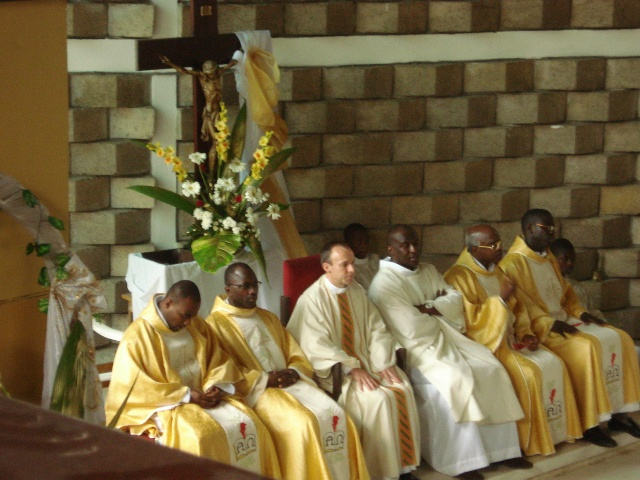 LC with Ivory Coast priests