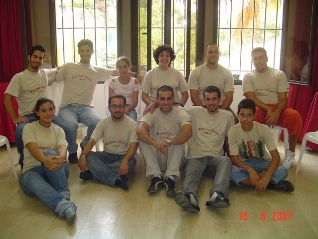 Lebanese youth participating in Mission Youth.